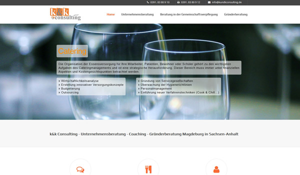 k&k consulting | Webdesign