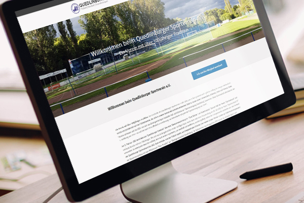 Quedlinburger SV e.V. | Webdesign